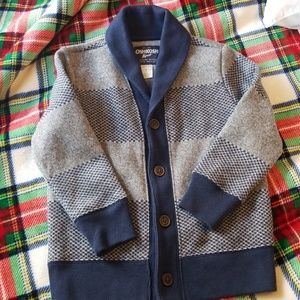 Button down sweater